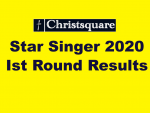 Christsquare Star Singer Round 1 Results